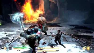 [God of War] [Video] [Spoilers] Combo Master VS the Two Sons