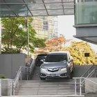 Person caught driving down the stairs today in Vancouver
