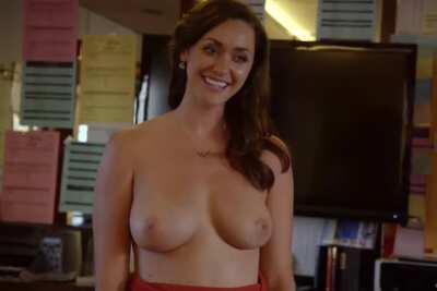 Sarah Power big titty reveal