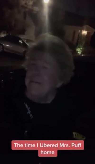 Man happened to Uber Mrs. Puff