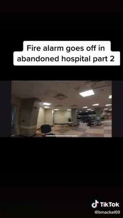 Nightmare Fuel in Abandoned Hospital