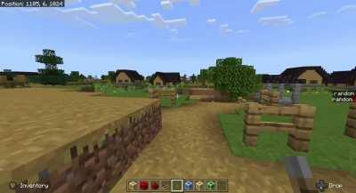 Watch a Huge Village Generate From One 64x64 Block Area in Under 1 Minute