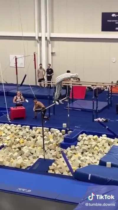 Just a trampoline place