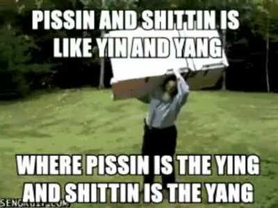 piss yin 😃 shit yang 😡