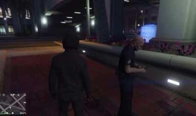 The Cops in this game have good reflexes