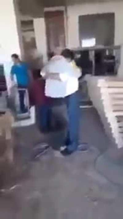 Syrian man who lost his Son, accepting he's dead and then finds him in Turkey. Amazing.