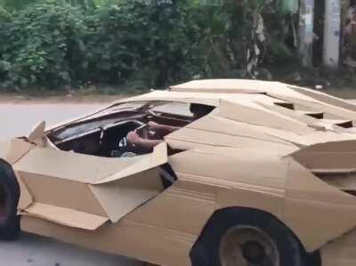 On my way to record a verse for Lamborghini Boys