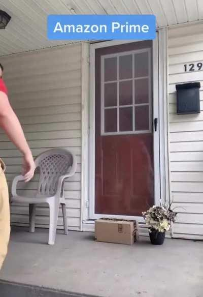 """""""Your package has arrived"""""""