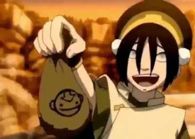 Further proving the point Toph should be allowed to curse