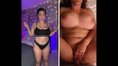 From TikTok To Sucking Cock 😈 ( Her Free Album In Comments )