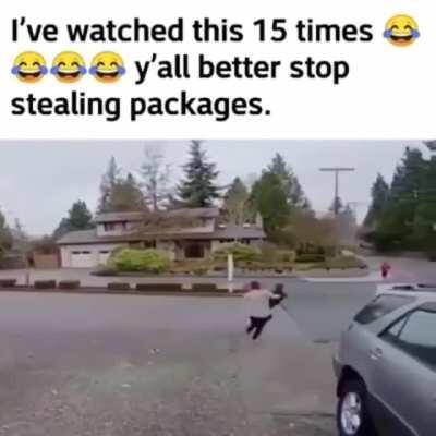 Package failed