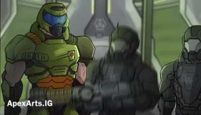 My favorite scene in the game