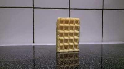 A depressed waffle
