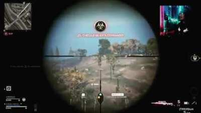 Da fucking Longshot! En serio cabron!? Really dude! #cod #mouseplayer #ps4stream #controllergang #gamercontent #controllerplayer #codwarzon #warzonestreamer #warzonememes #codmemes #twitchstream #twitch #sniper #sniperplayer #sonyps4 #headshot #streamcod