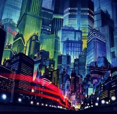 Akira remains my favorite depiction of a cyberpunk dystopia