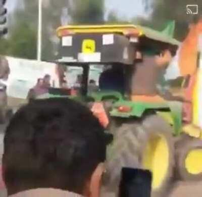 Wcgw if you do stunt on Tractor