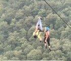 This technique to rescue stuck zipliners