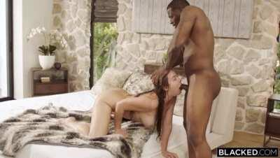Blair Williams finally makes her BLACKED/interracial debut