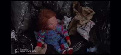 Chucky's garbage truck adventure