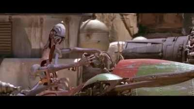 This beaty from Star Wars Episode I: Pod Race