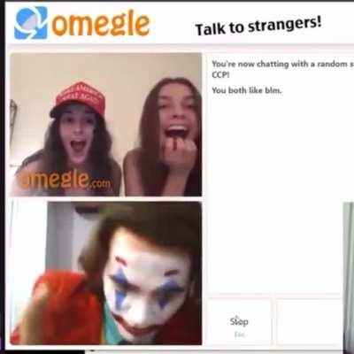Joker Goes on Omegle