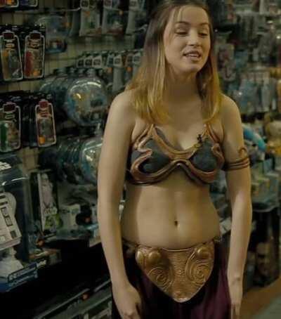 Ana De Armas as Slave Leia