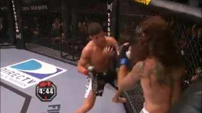 Wild start in Diego Sanchez vs Clay Guida