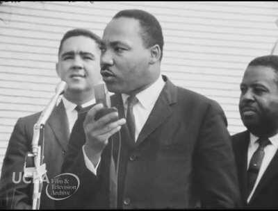 Martin Luther King Jr. urges people to vote, in inspiring speech (1964)