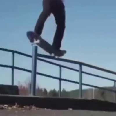 Skateboarding scream