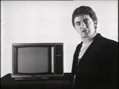 Rowan Atkinson Trinitron Advert, 1986