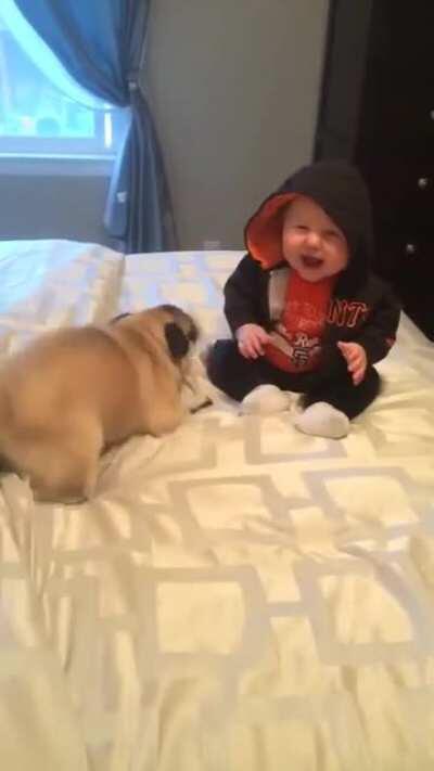 Happy screams