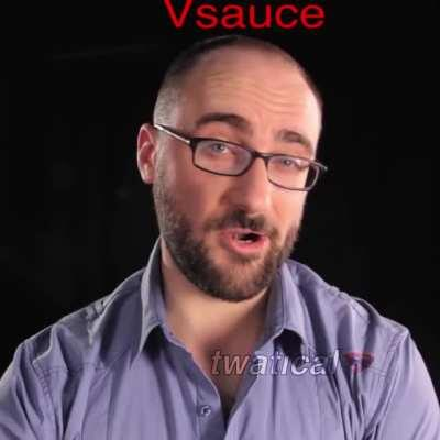 Vsauce as an impostor in Among Us