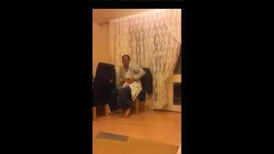 Alo Mahmut amca babama sıktım