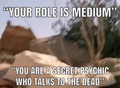 Rolling medium and knowing your fate N1