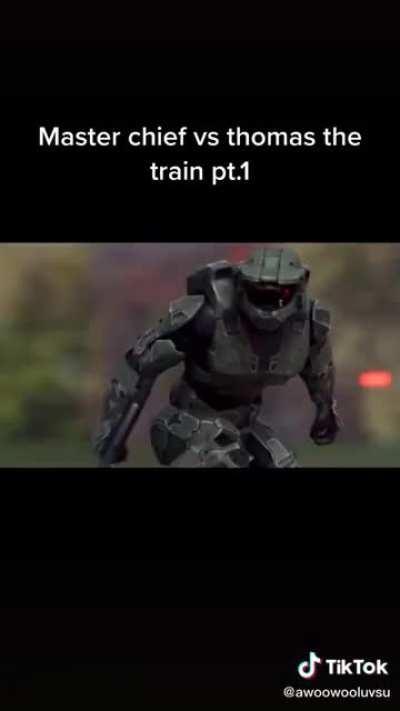 Master Chief vs Thomas the Tank Engine
