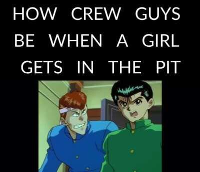 How crew guys be