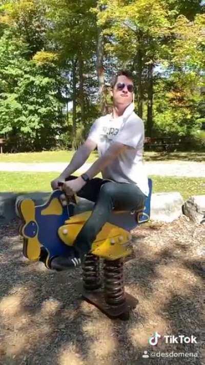 Ride it, my pony.
