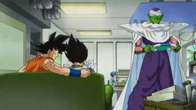 wow, imagine what a saiyan like me could do with all that money