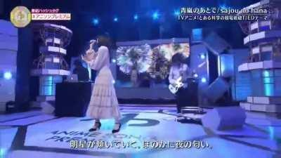 Toaru Kagaku no Railgun T Ending Theme 2「Aoarashi no Ato de」/「Memories of Youth」by Sajou no Hana - Performed Live at Anison Premium!