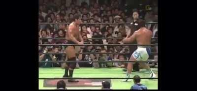 190 second Chop Off from Kenta Kobashi & Kensuke Sasaki at NOAH Destiny (2005)