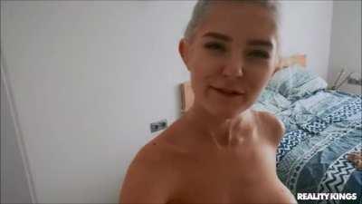 Eva Elfie - Spying On Big Tiddy Roommate