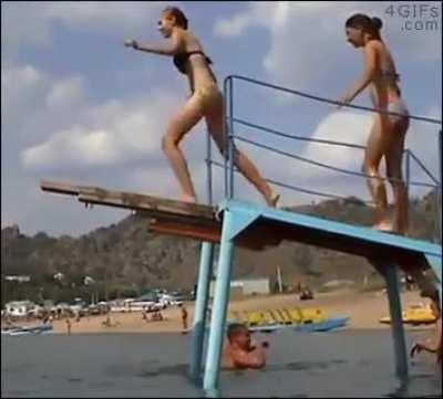 HMC while I make a graceful dive
