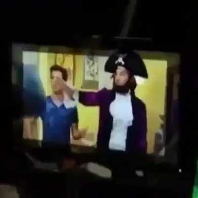 Patchy the Pirate is x Big Time Rush