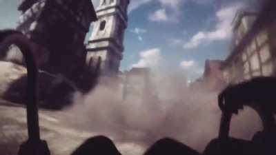 Attack on Titan 4D ride