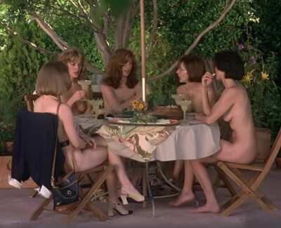 Lora Zane, Laila Robins, Kim Cattrall, Dana Delaney and Cynthia Stevenson - Live Nude Girls (1995)