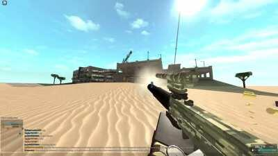 PHANTOM FORCES IS DOWN BUT HERES A FUNNY VIDEO OF MY MAC 10 BOOSTING ME BACKWARDS