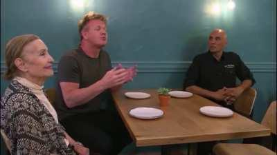 Gordon Ramsay can't Believe he's being offered Chinese food in a Mexican restaurant.