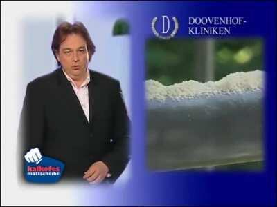 Oliver Kalkofe in seiner Paradedisziplin