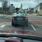 Priest driving around Cork saying mass (headphones needed)