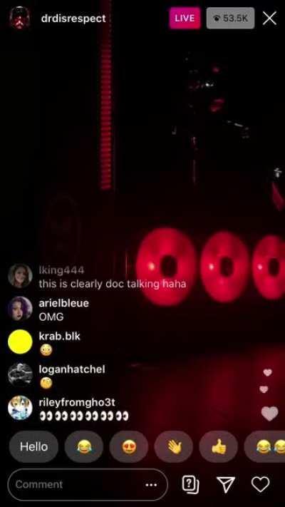 Full VSM News announcement from Doc's Instagram Livestream
